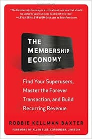 Membership Economy - image of book cover